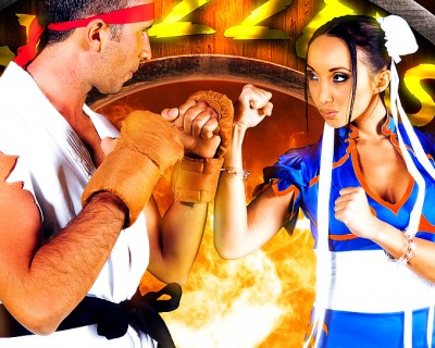 Sex fighter : street fighter xxx porn parody with Katsuni