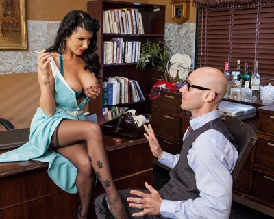 Mad muff : the Mad Men crazy porn parody with Romi Rain