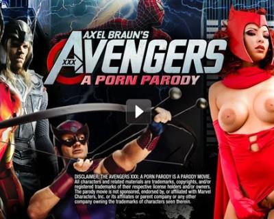 The Avengers XXX : la parodie porno des Avengers en vidéo