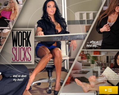 Sexe au travail : Anissa Kate, Rachel Roxx jeu porno