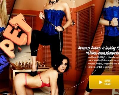 Jeux de sexe avec Brandy Smile une blonde salope
