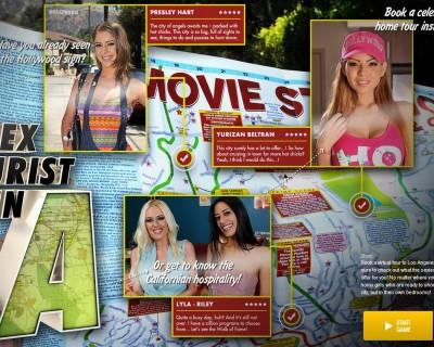 XXX game online with porn stars