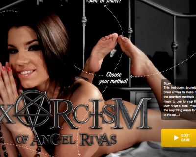 Porn Game : The Exorcism of Angel Rivas